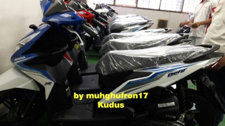 Distribusi All New Honda BeAT eSP 2016 Sudah Sampai Kudus pertamax7.com