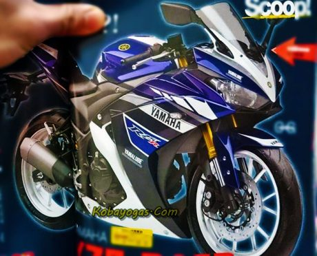 New Yamaha R25 Facelift 2017 pakai Upside Down Fork dan Swing Arm Alumunium