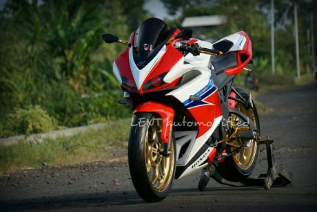 Modifikasi All New Honda CB150R jadi CBR150R 2016 ala Lent Automodified Probolinggo