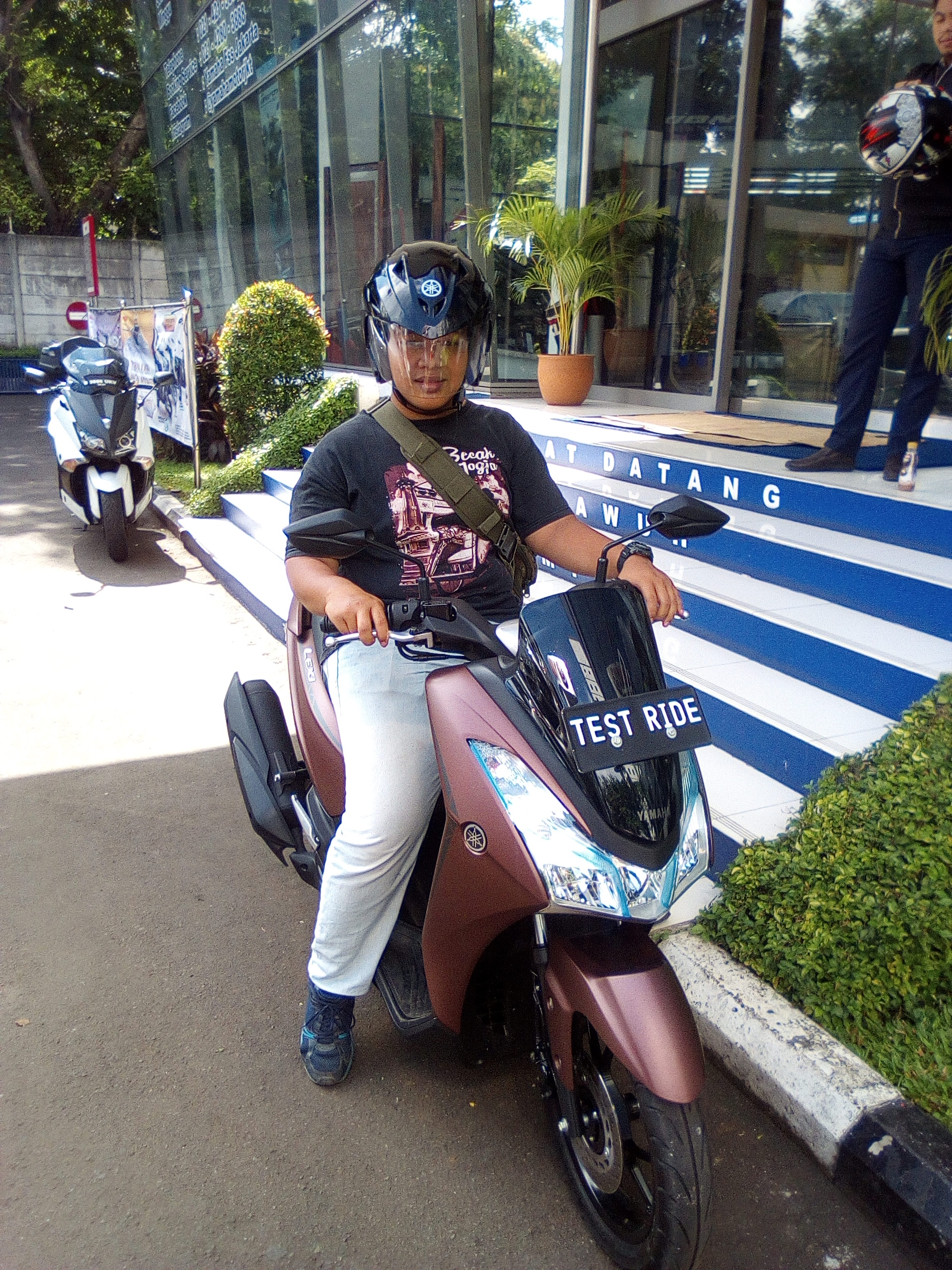 Peserta test ride Lexi 125