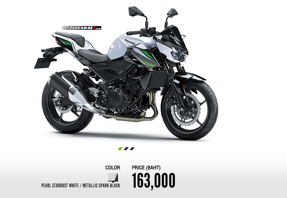 Harga Kawasaki All New Z250 Thailand 2019