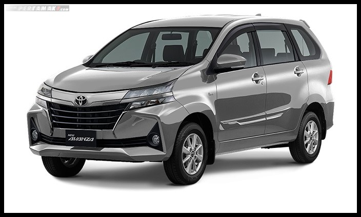 Toyota New Avanza 2019 Warna Silver Metalic