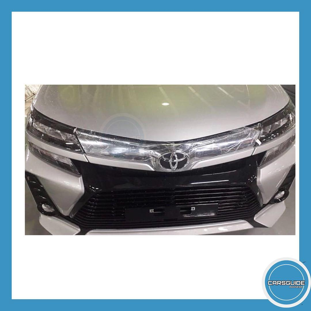 tampak Depan All New Toyota Veloz 2019